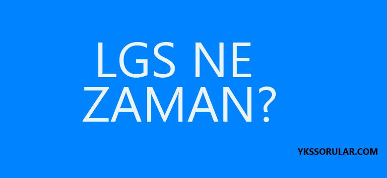 LGS nasıl olacak? LGS ne zaman?