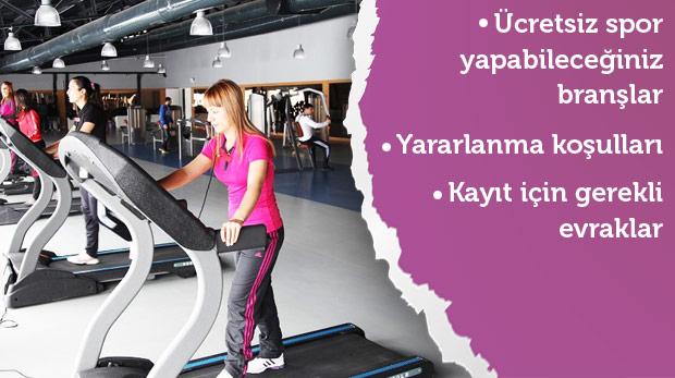 İstanbuldaki ücretsiz spor merkezleri 2019