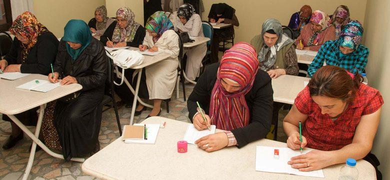 İSMEK Yoğunlaştırılmış Temel Düzey Okuma Yazma Eğitim Programı kursu
