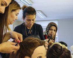 İSMEK Saç Ekleme Teknikleri kursu