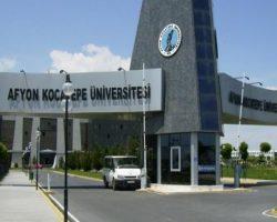 Afyon Kocatepe Üniversitesi iki yıllık bölümleri ve taban puanları 2020