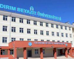 Ankara Yıldırım Beyazıt Üniversitesi iki yıllık bölümleri ve taban puanları 2020