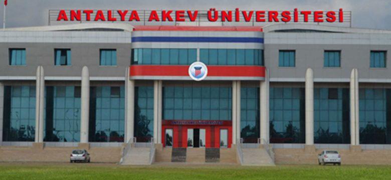Antalya Akev Üniversitesi iki yıllık bölümleri ve taban puanları 2020