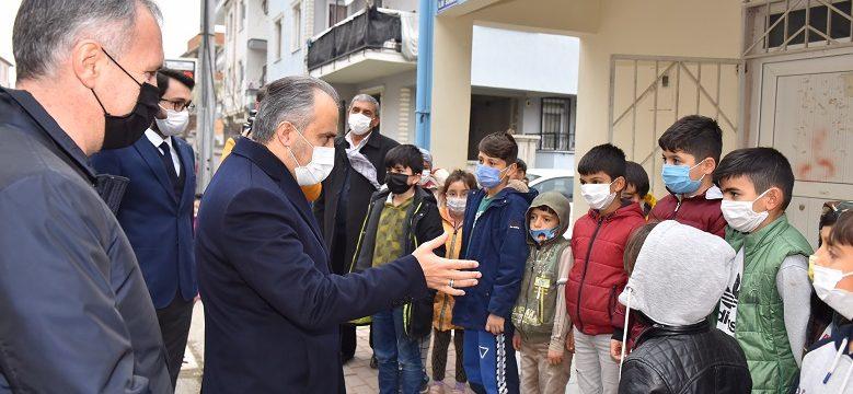 Bursa'da küçüklerden büyüklere çevre dersi